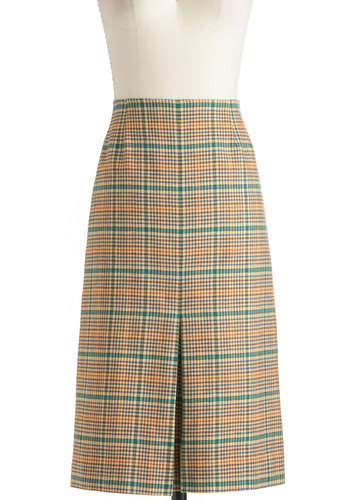 Vintage Color Film Fun Skirt