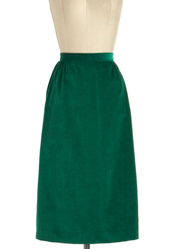 Vintage One Pine Day Skirt