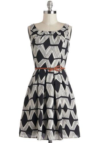 Graphic Gourmet Dress