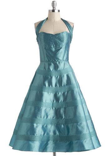 Ocean of Iridescence Dress