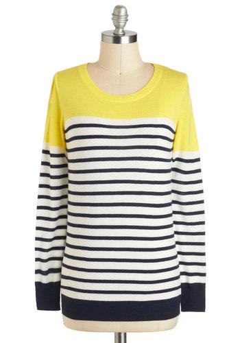 Rocking on Sunshine Sweater