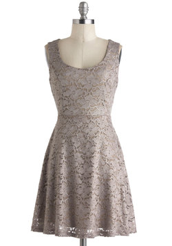 Silver Moon Melodies Dress