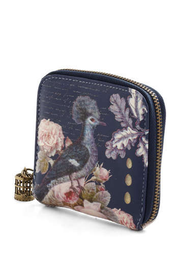 Bird Buy Bird Wallet by Disaster Designs - Faux Leather, Multi, Print with Animals