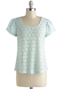 Mint and Greet Top
