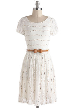 Dramatic Monologue Dress in White