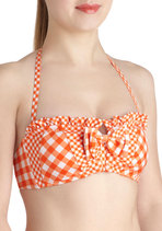 Betsey Johnson Backyard Dip Swimsuit Top