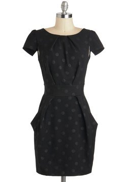 Tapioca Dokey Dress in Noir