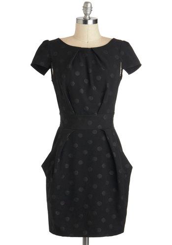 Tapioca Dokey Dress in Noir