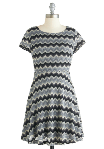 Sound Wave Hello Dress