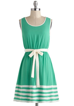 Toot Your Own Greenhorn Dress
