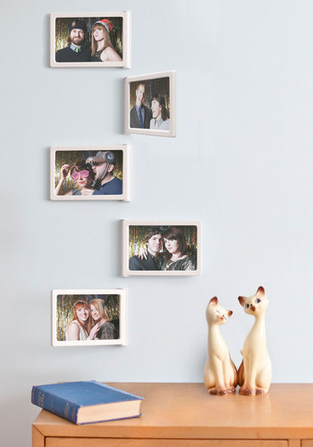 Hinge Benefits Frame Set - White, Dorm Decor, Urban, Graduation, Good
