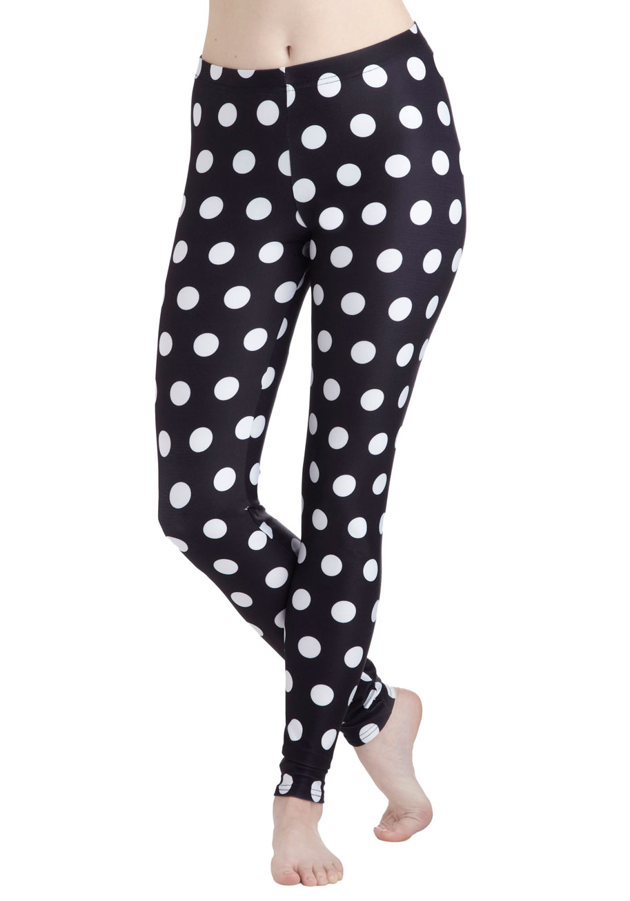 Fresh Take Leggings in Dots | Mod Retro Vintage Pants | ModCloth.com