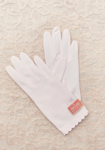 Vintage That's Just Ladylike You Gloves
