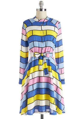 Brick House Party Dress