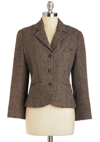 Vintage A Study in Style Blazer