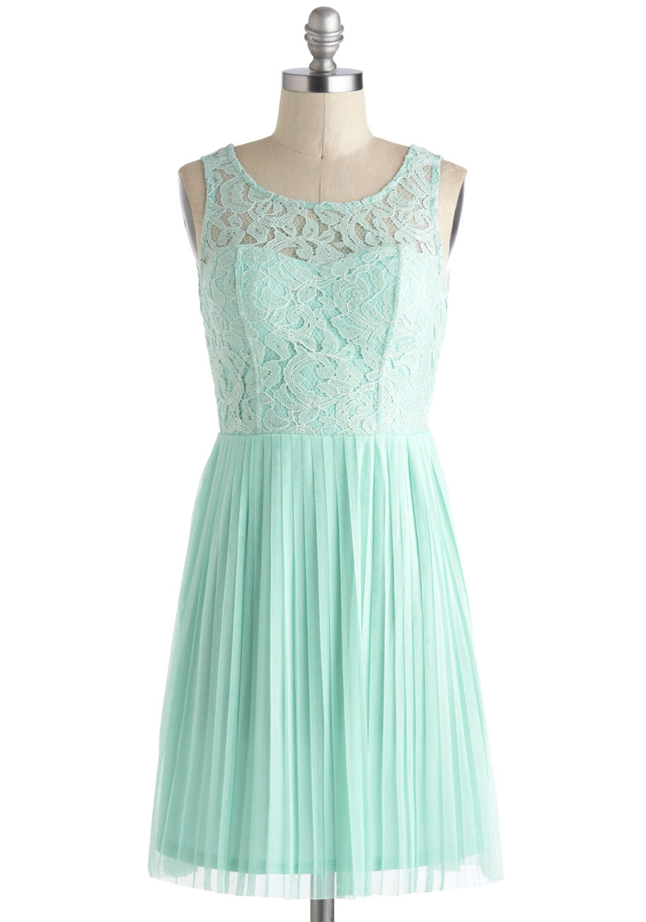 Someone from your pastel dress mod retro vintage dresses for Pastel green wedding dress