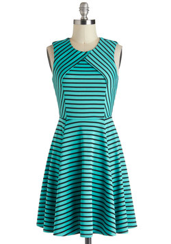 Ambient Turquoise Dress
