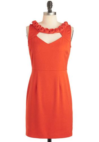 Rosette on You Dress
