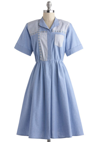 Vintage Window of Opportunity Dress