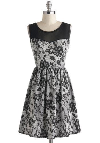 Elegant Illusion Dress