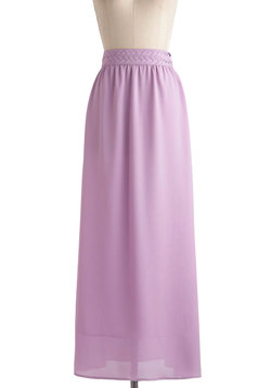 Always Play Flare Skirt in Lilac