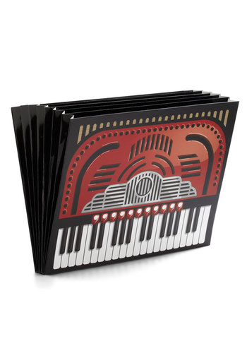All the Right Notes File Folder by Gama-Go - Red, Black, Music, Scholastic/Collegiate, Good