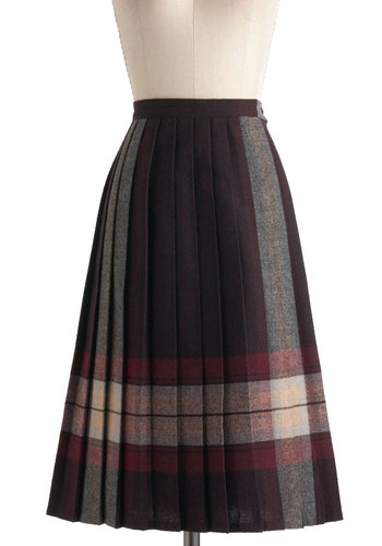 Vintage Folk Trails Skirt