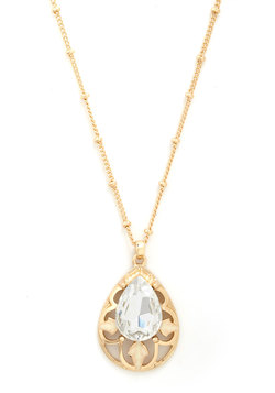 Drop of Dazzling Necklace