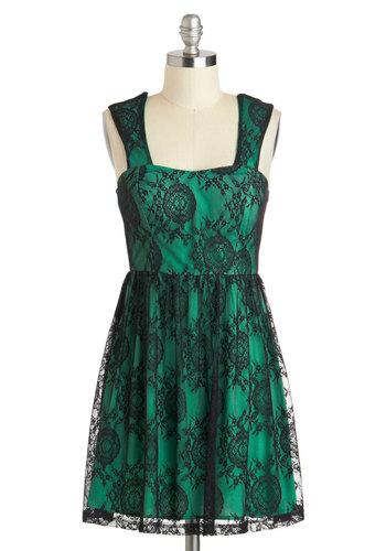 Emerald Envy Dress