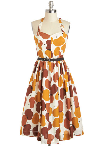 Made in the Shades Dress in Apples