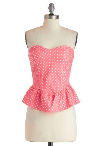 Bubblegum Glamour Top