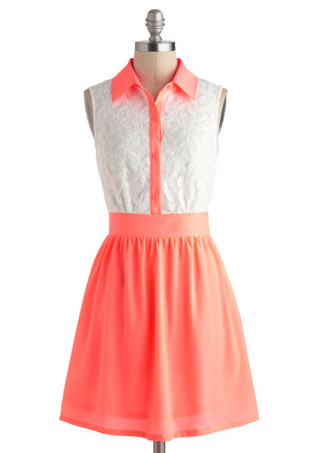 Neon a Roll Dress