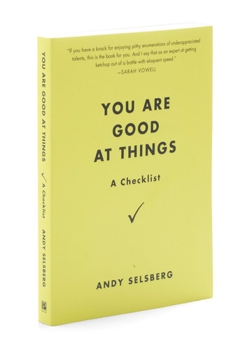 You Are Good At Things by Penguin Books - Yellow, Dorm Decor, Quirky