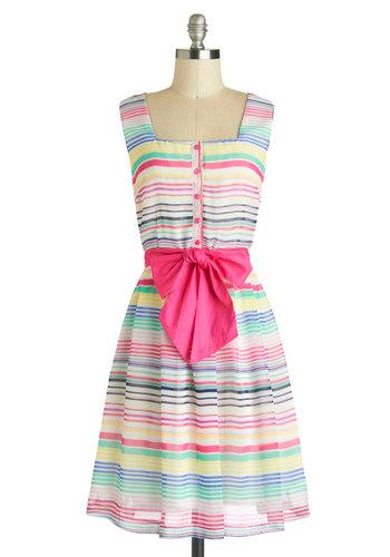 Color Inside the Lines Dress