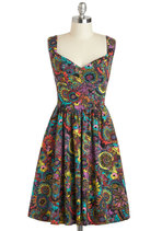Westward Excursion Dress in Flower Power