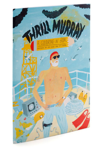 Thrill Murray: A Colouring-In Book - Multi, Vintage Inspired, Handmade & DIY, Quirky