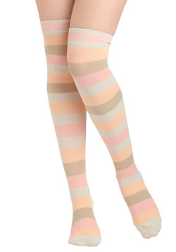 Stripe in Your Step Socks