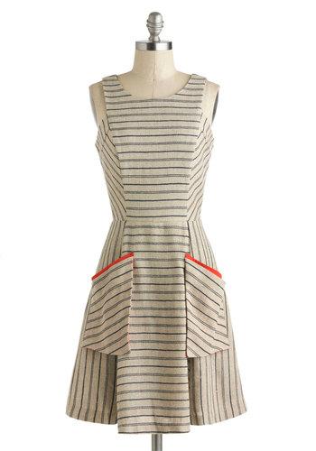 Penmanship Shape Dress