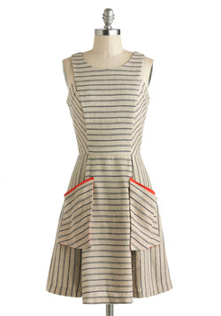 Penmanship Shape Dress
