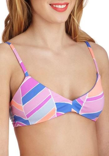 Get Your Flutter Kicks Reversible Swimsuit Top