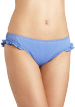 Get Your Flutter Kicks Swimsuit Bottom in Solid