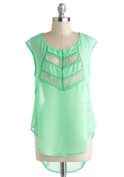 Agree to Verdigris Top
