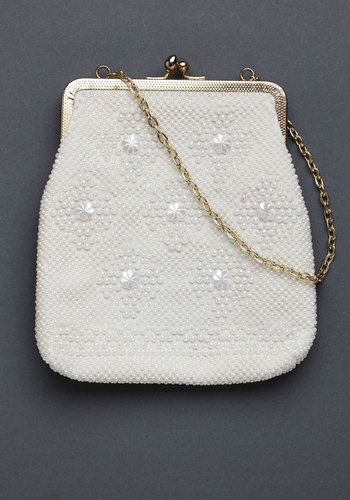 Vintage Always Bead True Clutch