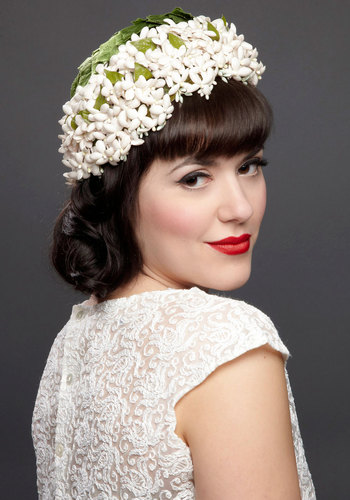 Vintage Budding Bliss Fascinator
