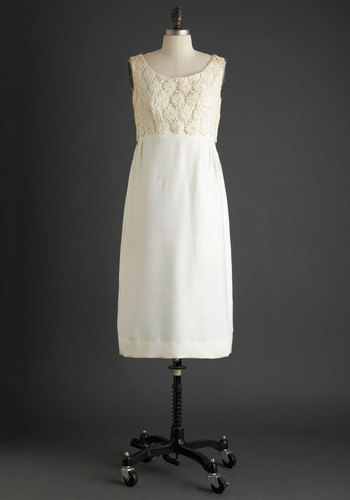 Vintage Take A Vow Dress