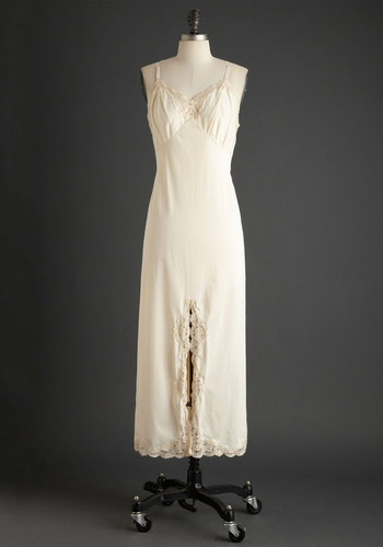 Vintage Dreaming of Forever Slip Gown