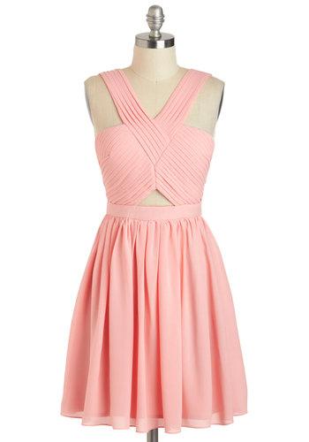 V for Vienna Dress
