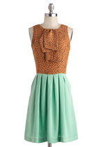 Feeling Mint Chocolate Chipper Dress