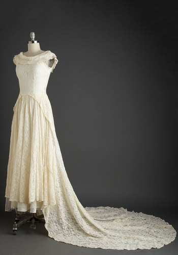 Vintage Gown the Aisle Dress
