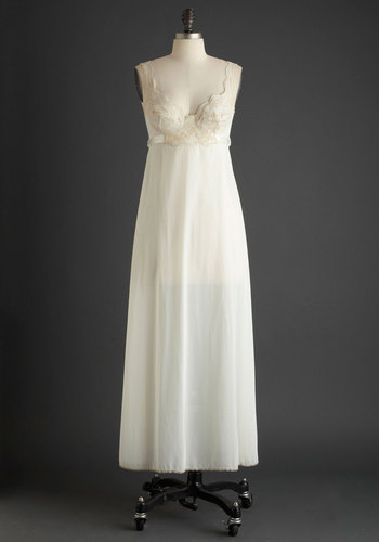 Vintage This Timeless Tomorrow Slip Gown
